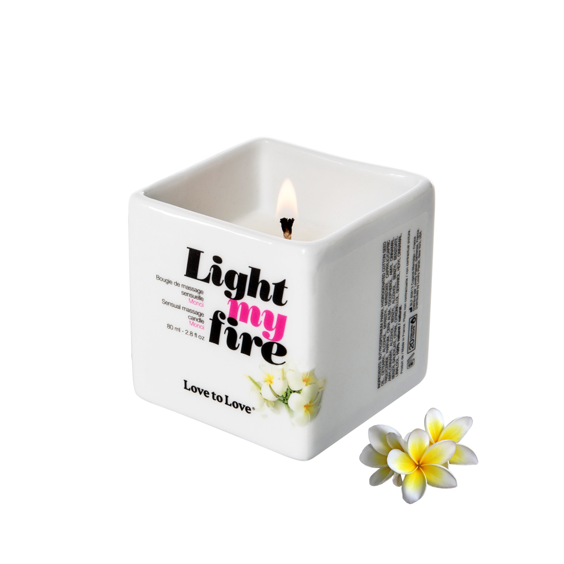 Bougie de Massage Light My Fire 2 Parfum