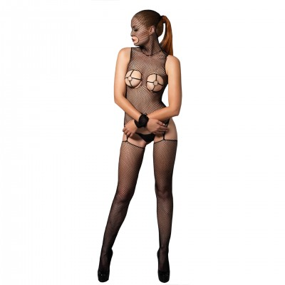 Bodystocking Résille O-Ring Cups