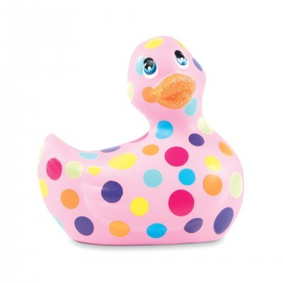 Mini Canard Vibrant I Rub My Duckie 2.0 Happiness Rose