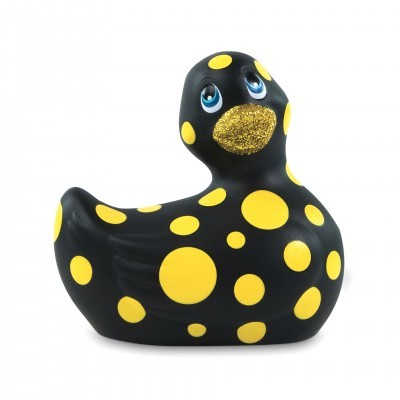 Mini Canard Vibrant I Rub My Duckie 2.0 Happiness Noir
