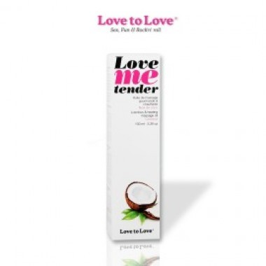 Huile de Massage Love me Tender / 100 ml - photo 1